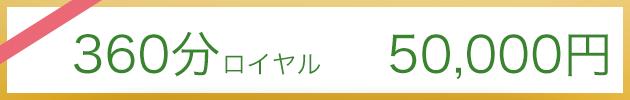 360分コース50.000円